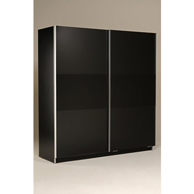 armoire 2 portes coulissantes design. Black Bedroom Furniture Sets. Home Design Ideas