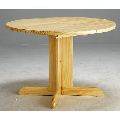 Table ronde pied central bois massif images - Table pied central bois ...