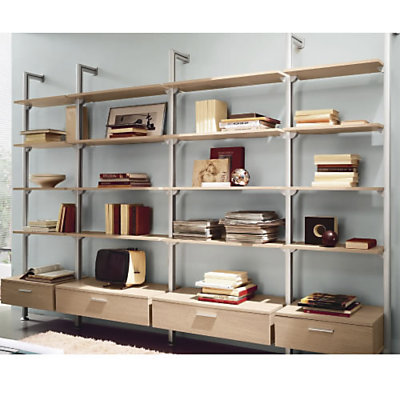 etagere murale 4 tiroirs dack. Black Bedroom Furniture Sets. Home Design Ideas