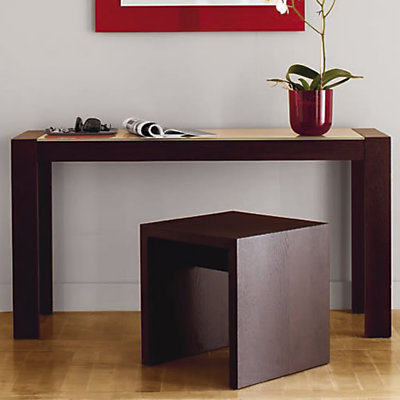petite console wenge. Black Bedroom Furniture Sets. Home Design Ideas