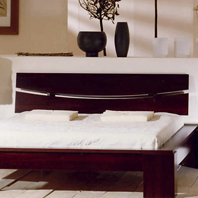 tete de lit zen 140. Black Bedroom Furniture Sets. Home Design Ideas