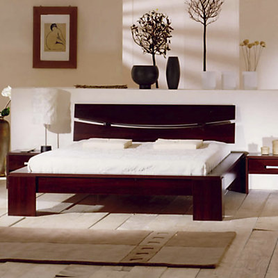 lit zen bois tous les objets de d coration sur elle maison. Black Bedroom Furniture Sets. Home Design Ideas